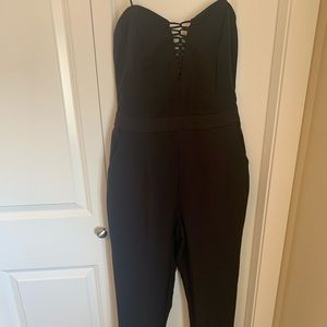 NWT Strapless pantsuit